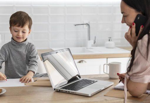 dicas para mães em home office